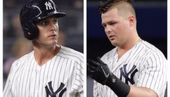 Greg Bird vs Luke Voit (Photo: NJ.com)