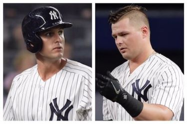 Greg Bird vs Luke Voit (Photo: NJ.com)