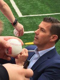 Mets GM Brodie Van Wagenen, Syracuse, NY 3/26/2019 (Photo: Steve Contursi, Reflections On Baseball)