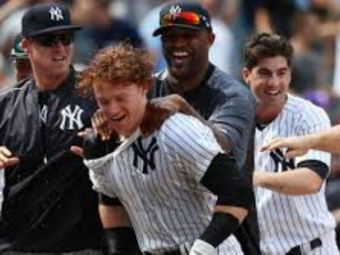 Clint Frazier, New York Yankees Outfielder (Photo: SI.com)