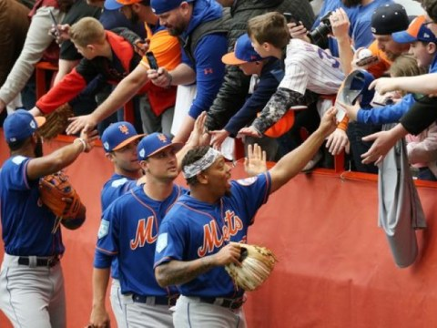 Mets Get The Spirit In Syracuse (Photo: pressconnects)