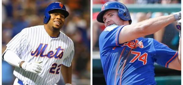Dominic Smith & Pete Alonso Compete For Job 2019 (Photo: AJG SportsNY.net)
