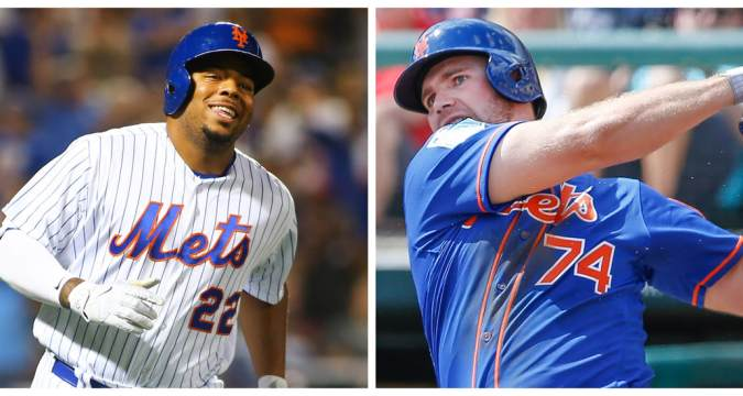 Dominic Smith & Pete Alonso Mets Definition (Photo: AJG SportsNY.net)