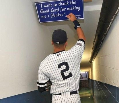 Derek Jeter - The Last Of The Believers? (Photo: Pinterest)