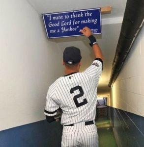 Derek Jeter - The Last Of The Believers? (Photo: Pinterest)