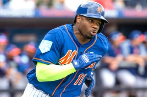 Rajai Davis, Syracuse Mets Outfielder (Photo: New York Post)