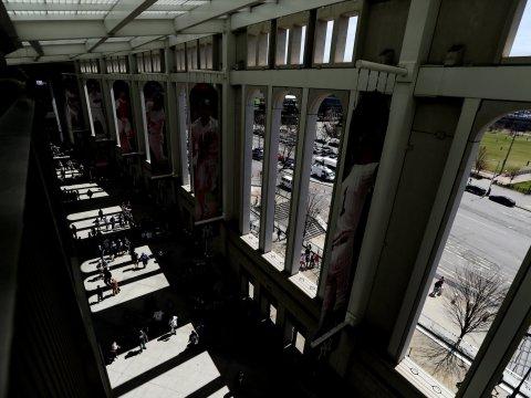 Yankee Stadium's Great Hall (Photo: New York Times)