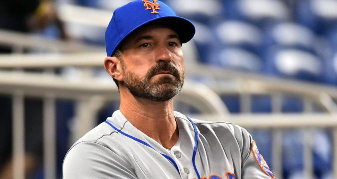 Mickey Callaway, Distressed Mets Manager (Photo: CBS Sports)