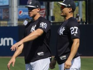 Aaron Judge and Giancarlo Stanton, New York Yankees (Photo: bergenrecord)