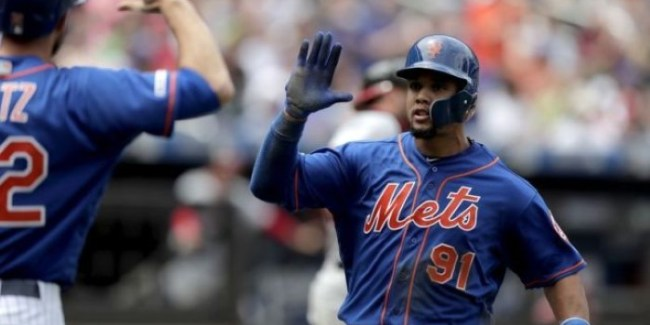 Carlos Gomez contributes to a Mets sweep of the National (Photo: Republican-American)