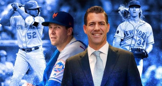 Brodie Van Wagenen, Mets GM (Photo: SNY)