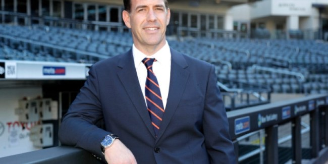 Mr. Slick - Mets GM Brodie Van Wagenen (Photo: New York Post)