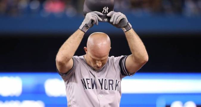 Brett Gardner - Frustration (photo: Tom Szczerbowski/Getty Images)