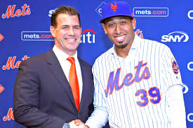 Van Wagenen welcomes Edwin Diaz (Photo: New York Post)