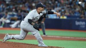 Nestor Cortes, 2019 Yankees, has a job description (Photo: SNY-TV)