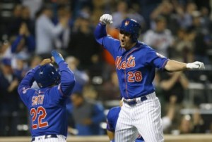J.D. Davis - A Fledging Core Four Star On The Mets (Photo: The Athletic)