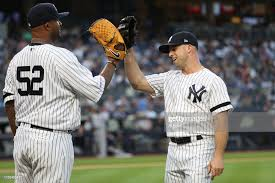 Yankees Team Leaders: CC Sabathia & Brett gardner (Photo: Getty Images)
