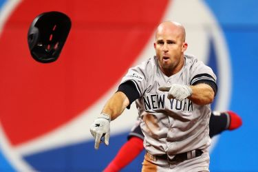 All-out Brett Gardner A Yankee Warrior (Photo: Pinstripe Alley)