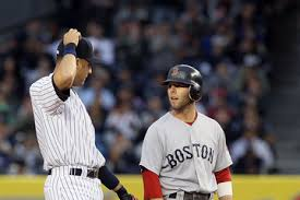 Derek Jeter and Dustin Pedroia - Two Peas From The Same Pos (Photo: zimbio.com)