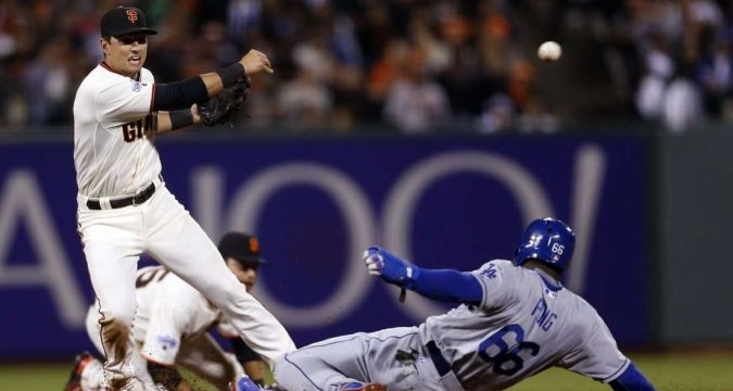 Joe Panik, Former All-Star Second Baseman (Photo: San Francisco Chronicle)