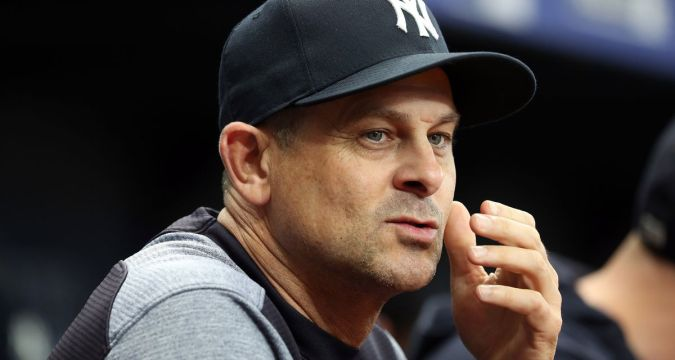 Aaron Boone, Manager of the Year Candidate (Photo USA Today)
