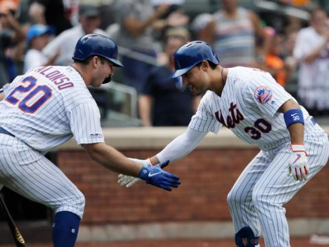 Mets Dynamic Duo: Pete Alonso & Michael Conforto (Photo: Forbes)
