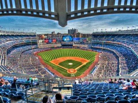 Yankee Stadium Photo HS Creme)