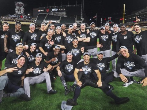 2019 Yankees - A team effort (Photo: The Bronx Dugout)