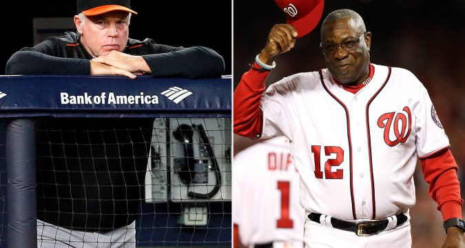 Buck Showalter and Dusty Baker Mets interview (Photo: New York Post)