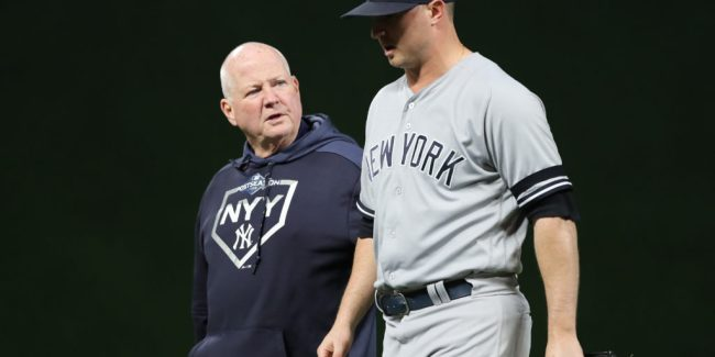 Yankees all too familiar scene 2019 (Photo: Elsa/Getty Images)