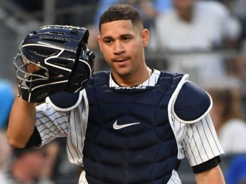 Gary Sanchez, NY Yankees ( Photo Credit: Kathleen Malone-Van Dyke)