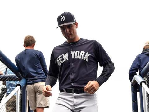 Yankees Greg Bird: The next phase? (Photo: USA TODAY Sports (Steve Mitchell)