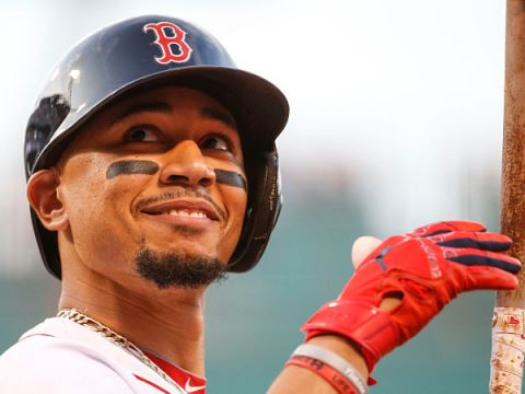 Wanted by the Mets - Mookie Betts (Photo: NESN)