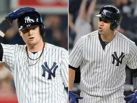 Clint Frazier Gary Sanchez - Yankee enigmas (Photo: eawaz)