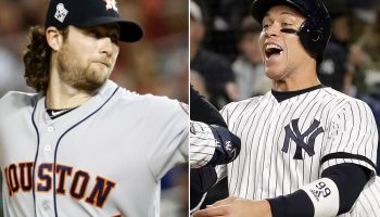 Aaron Judge ecstatic about Gerrit Cole (Photo: New York Post)