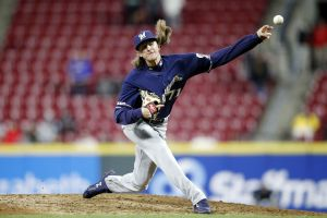 Josh Hader Trade Bait - Let the buyer beware (Photo: Brewcrew Ball)
