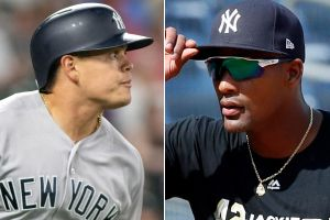 Yankees Gio Urshela vs. Miguel Andujar (Photo: NY Post)