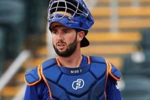 Tomas Nido, Mets current backup catcher (Photo: 360mets.com)