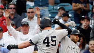 Yankees Luke Voit vs. Mike Ford (Photo: ABC News)