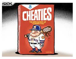 Forever known as the cheating Astros (cagle.com)