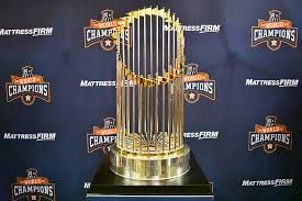 Astros 2017 Trophy - Take It Back, Commissioner