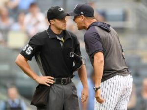 Aaron Boone - Tempering the anger (Sarah Stier / Getty Images)