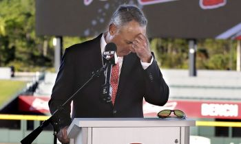 Rob Manfred giving everyone a headache (USA Today)