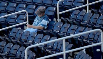 Yankees lone fan before season halt (NY Post)