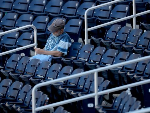 Yankees lone fan before season halt (NY Post)