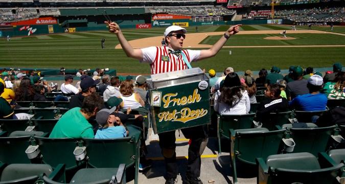 Vendors - A Ballpark Staple