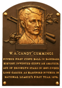 Candy Cummings, Inventor of the Curveball (HOF)