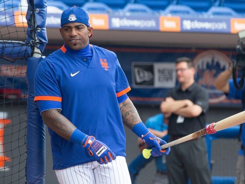 Yoenis Cespedes - Mets Mystery Man (Anthony J Causi)