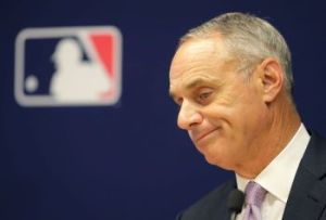 Rob Manfred MLB owners mouthpiece (AP)
