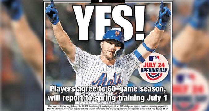 The MLB 2020 Season Is On!